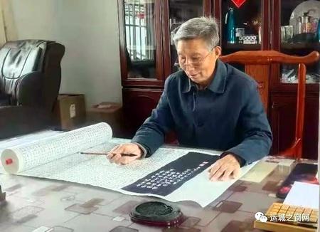 农民书画家王克生为中国共产党成立100周年 献上《开国领袖毛泽东》书法长卷